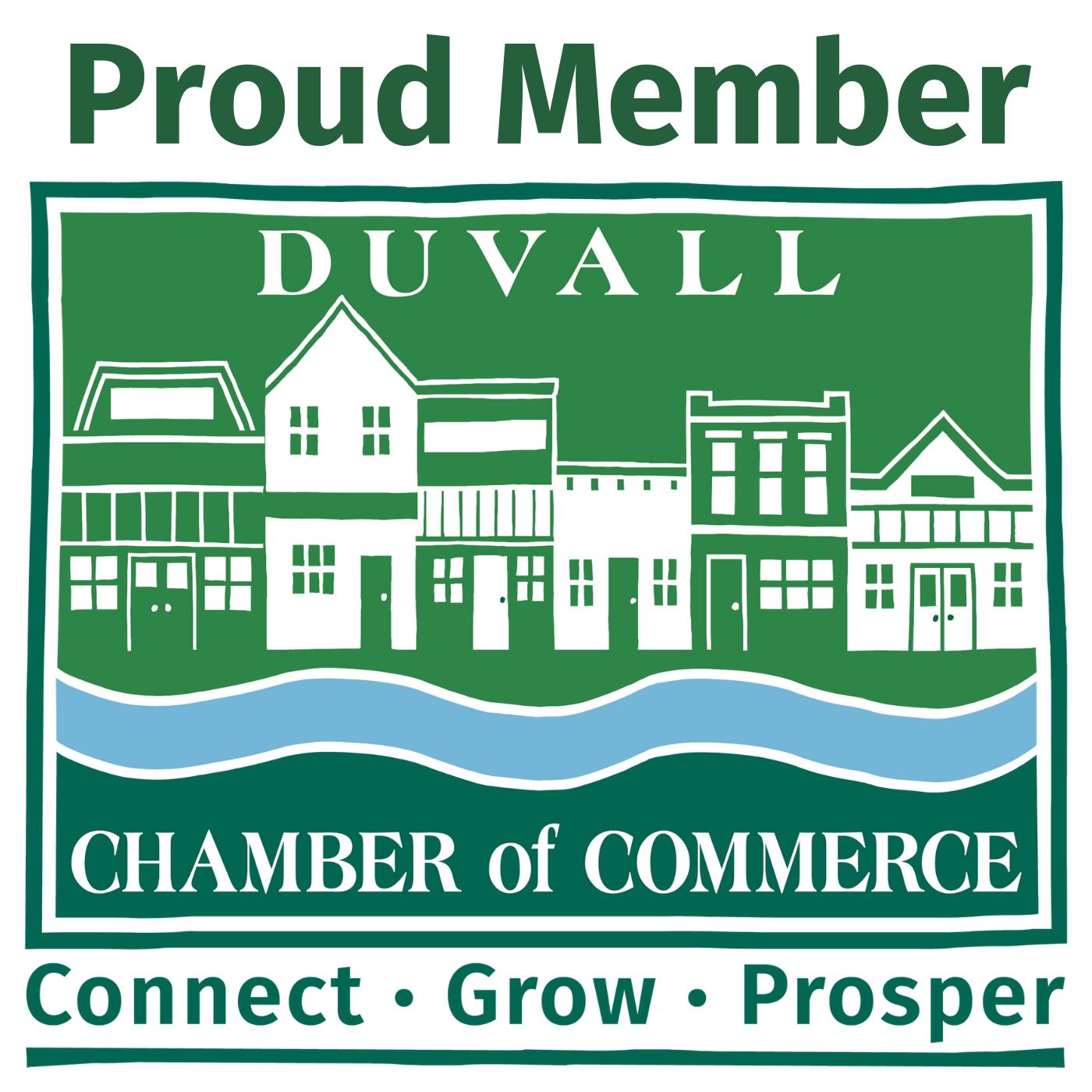 Proud Member of Duvall Chamber -graphic for Member website - large